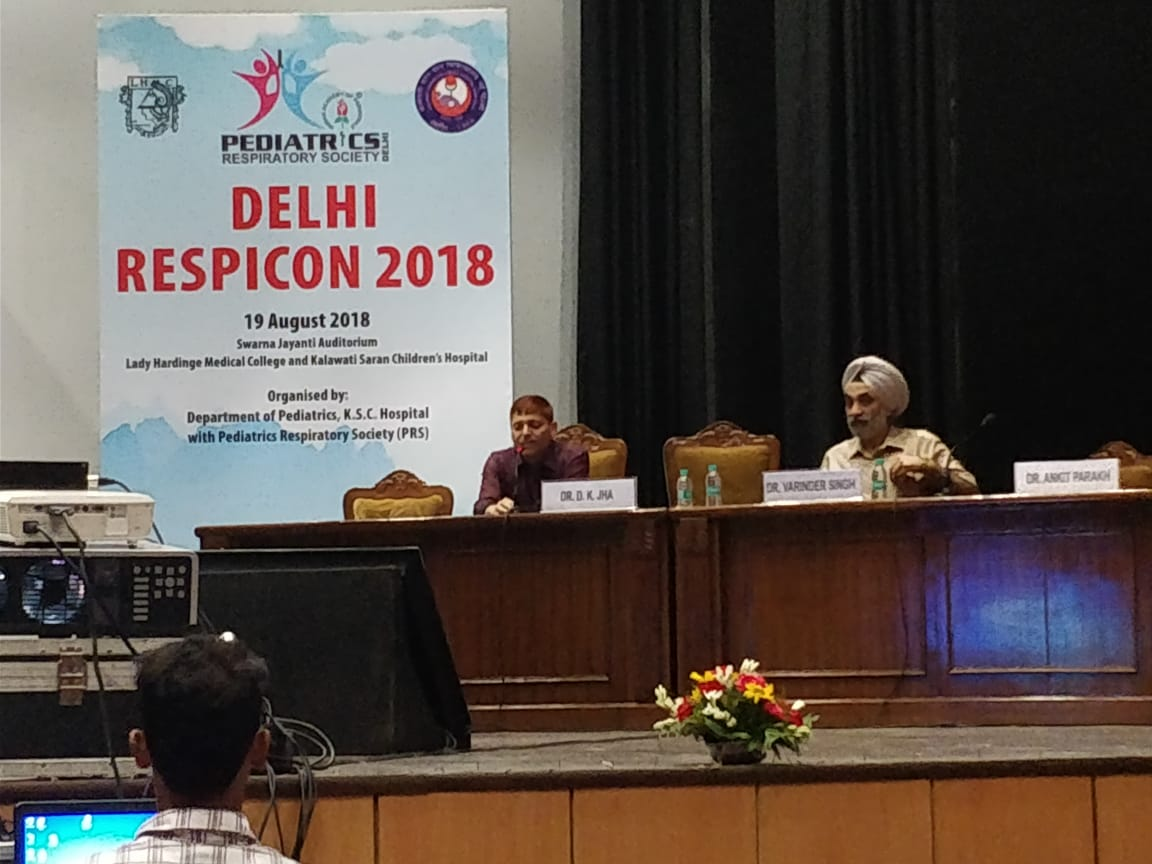 Child Health Care » CONFERENCES IN PEDIATRIC RESPIROLOGY BY DR D K
